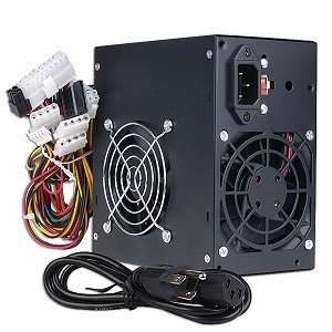 GenMax 480W 20+4 pin Dual Fan ATX PSU w/SATA & PCI Express