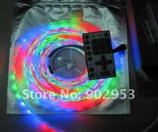 Dream color 5050 RGB 5M Flash SMD LED Strip 94 change + RF Remote