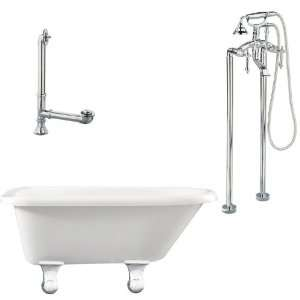 Giagni LB2 PC Brighton Floor Mounted Faucet Package