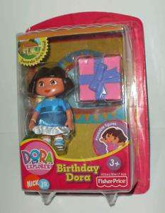 NEW Dora Explorer Talking House BIRTHDAY DORA figure