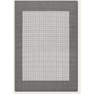 Couristan Recife Checkered Field Grey/White 23x710 Runner Area Rug