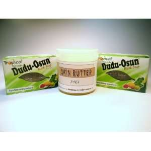 Dudu Osun Black Soap with 3 N 1 Skin Butter Everything