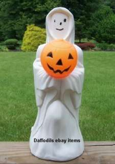 EMPIRE GHOST W/PUMPKIN HALLOWEEN BLOW MOLD LIGHT UP