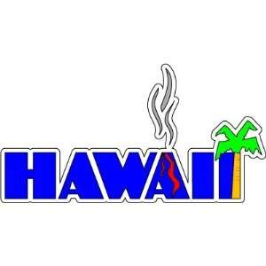 Hawaii Sign United States Car Bumper Sticker Decal 6x3