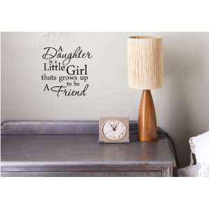 friend Vinyl wall art Inspirational quotes and saying home decor decal