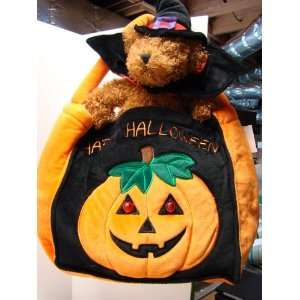 DESIGNER TRICK OR TREAT BAG WITH TEDDY BEAR Everything