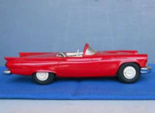 1957 AMT PROMOTIONAL FORD THUNDERBIRD CONVERTIBLE CAR