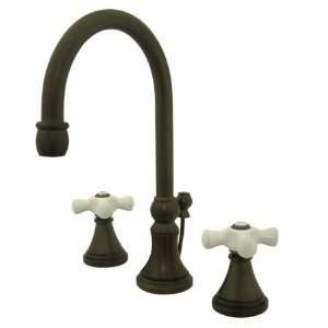 Elements Of Design ES2985PX Oil Rubbed Bronze Madison Double Handle 8