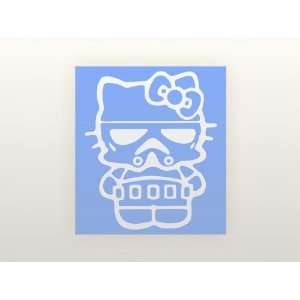 8 Vinyl Decal   Hello Kitty Stormtrooper   Car, Truck