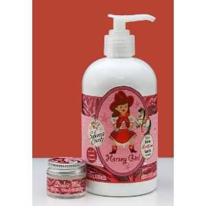 Dolce Mia Horsey Girl Vanilla Shea Butter Natural Lotion With Organic