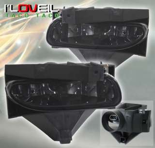 99 04 FORD MUSTANG SMOKE FOG LIGHTS LAMPS 00 01 02 03