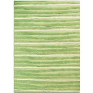 Home Dynamix Kidz Image Mello Green Stripes Waves 36 x 4
