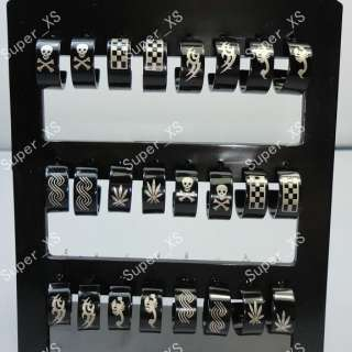 jewelry mixed lots 36pairs stainless steel earrings New