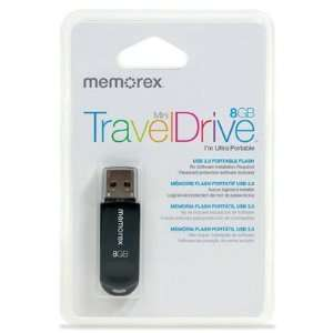 Memorex Mini Traveldrive 8gb Electronics