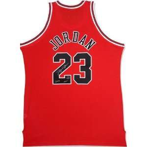 Signed Michael Jordan Limited Edition Jersey   HOF 2009