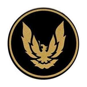 1988 92 GTA WHEEL CAP EMBLEM GOLD/BLACK Automotive