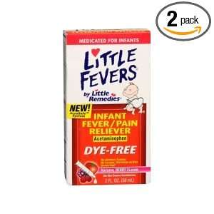 Little Remedies Fever Pain Reliever, Natural Mixed Berry