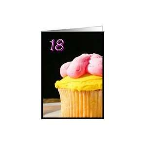 Happy 18th Birthday muffin Card Toys & Games