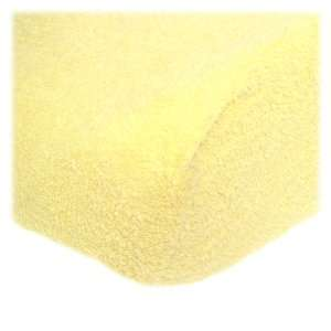 Terry Contoured Changing Pad Cover   Lemon Baby