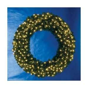 60 Pre lit LED Vanderbilt Artificial Christmas Wreath