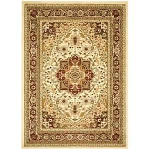Safavieh Rugs Lyndhurst Collection LNH330A 9 Ivory/Red 9