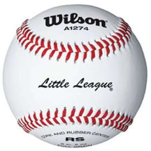 9 A1274 Youth League Leather Baseballs from Wilson   3