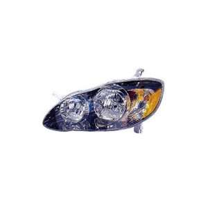 Toyota Corolla Passenger Side Replacement Headlight