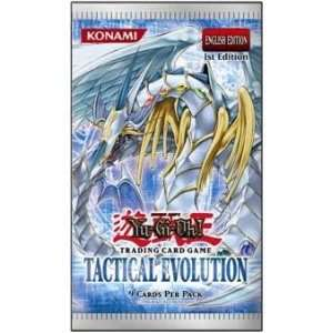 YuGiOh GX CCG Tactical Evolution Booster Pack [Toy] Toys & Games