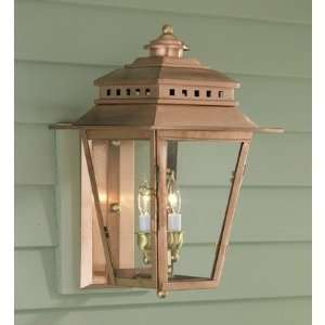Norwell Lighting 2255 CO CL New Orleans Two Light Outdoor