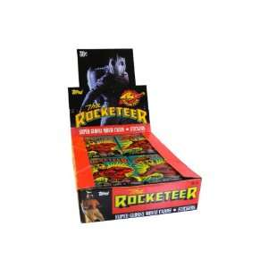 1991Topps The Rocketeer Trading Card Unopened Box Toys