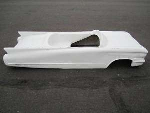 1960 Cadillac pedal car hot rod stroller 1/4 scale fiberglass body rat