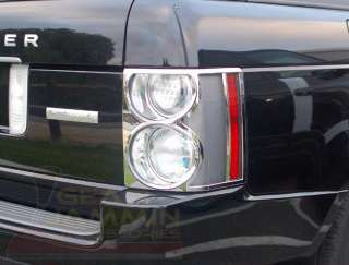 Range Rover HSE L322 CHROME TAIL LIGHT Covers 2003 2009