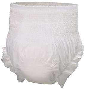 48 XXL Adult Pull Up Disposable Briefs Undergarments Incontinence