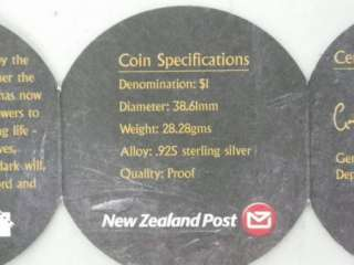 Lord of the Rings Commemorative .925 Sterling Silver New Zealand Coin