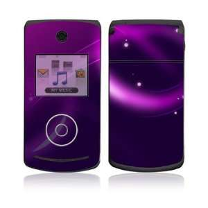 LG Chocolate 3 (VX8560) Skin Decal Sticker   Abstract Purple