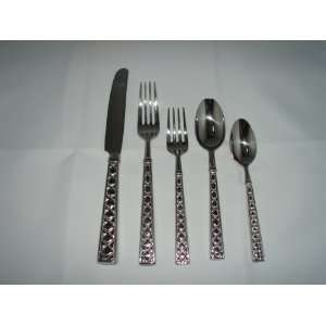 kate spade Lenox diamond pattern 18/10 stainless 5 piece