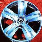 SET OF 4 NEW 19 BENTLEY CONTINENTAL OEM CHROME WHEELS RIMS EXCHANGE