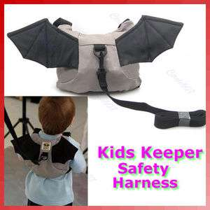 Baby Kid Keeper Toddler Walking Safety Harness Backpack Bag Strap Rein