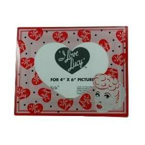 I Love Lucy Lucille Ball 4 By 6 Glass Logo Picture Frame