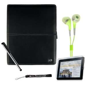 iPad Hard High Quality Artificial Leather Case fits