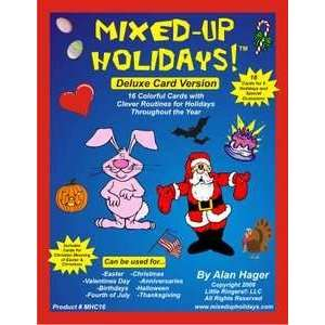 Mixed Up Holidays Set of 16 Cards Magic Trick Toys & Games
