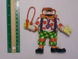 TMNT Mutant Ninja Turtles Clown Suit Michelangelo Figure Very Rare