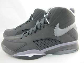 NEW MENS NIKE AIR MAESTRO FLIGHT 472499 011 ANTHCITE/COOL GREY WHITE