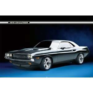 1970 Ford Challenger Cool Sports Car PAPER POSTER measures