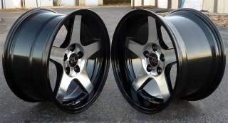 Deep Dish Mustang ® 03 Style Wheels 17x9 & 17x10.5 fits SVT, 1994
