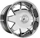 24 Lexani Wheels LX 2 Chrome Rim Tire Escalade Armada