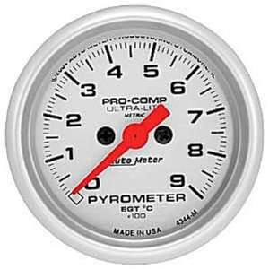 Auto Meter Ultra Lite Pyrometer Gauge   4344 M Automotive