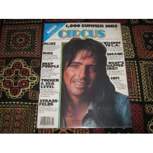 Circus Magazine (Alice Cooper , KISS , Rush , Deep Purple
