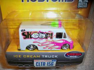 JADA 1/64 DUB CITY KUSTOMS DA SKOOP ICE CREAM TRUCK 2006 NEW