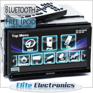 KENWOOD DDX7036BT BLUETOOTH DOUBLE DIN 7 CAR DVD PLAYER